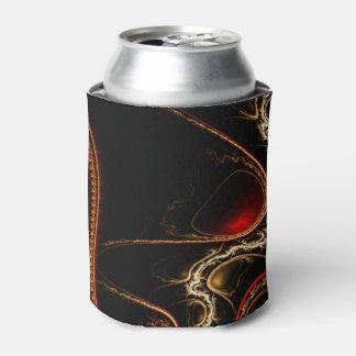 El dragón escala el neverita de bebidas enfriador de latas
