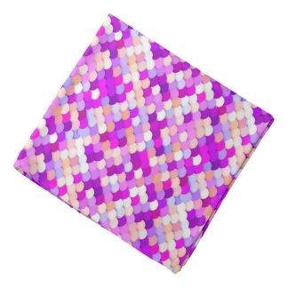 """El """"dragón escala"""" - púrpura. rosas fuertes y bandana"""