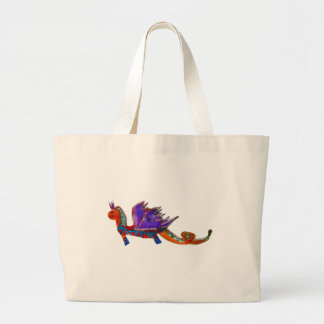El dragón feliz bolsas de mano