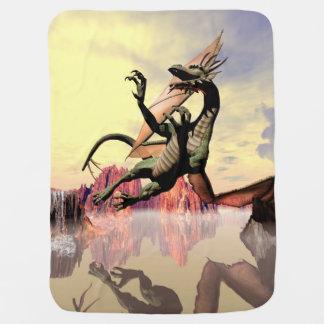 El dragón mantitas para bebé