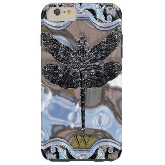 El dragón negro del líquido funda de iPhone 6 plus tough