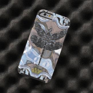 El dragón negro del líquido funda para iPhone 6 tough