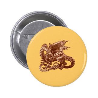 El dragón observa - pin