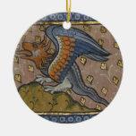 El dragón ornamente de reyes
