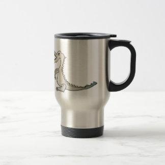 el dragón pequeño taza de café