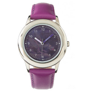 El dragón púrpura relojes de pulsera