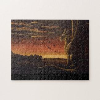 """""""El dragón"""" Rompecabezas-por Bethany Boyd. Puzzle"""