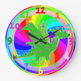 El dragón verde embroma el reloj Kimberly conocida
