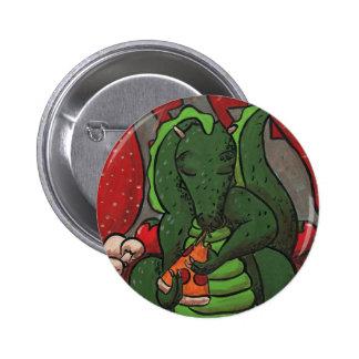 El dragón y la pizza pins