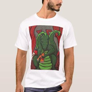 El dragón y la pizza playera