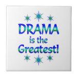 El drama es el más grande azulejo