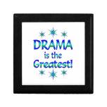 El drama es el más grande caja de recuerdo