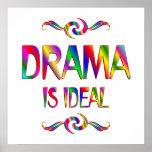 El drama es ideal impresiones