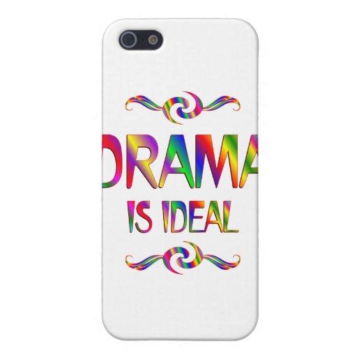 El drama es ideal iPhone 5 cárcasas