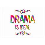El drama es ideal postal
