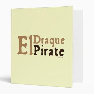 El Draque: Pirate Vinyl Binder