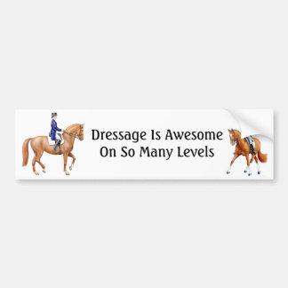 El Dressage es pegatina para el parachoques Pegatina Para Auto