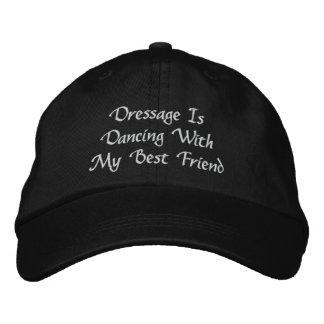 El Dressage está bailando la gorra de béisbol bord