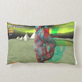 el duende 3D hace estallar hacia fuera la almohada