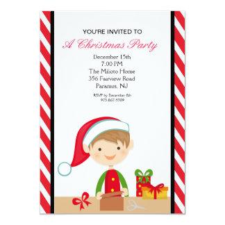 El duende adorable en fiesta de Navidad del taller Invitaciones Personales