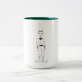 El duende del navidad taza