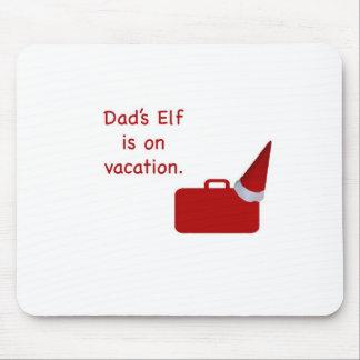 El duende del papá está en productos de las vacaci mouse pad