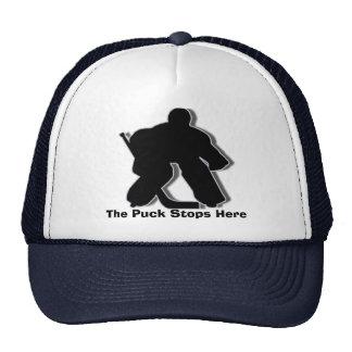 El duende malicioso para aquí gorras de camionero