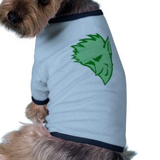 El duende verde diabólico ropa de perros