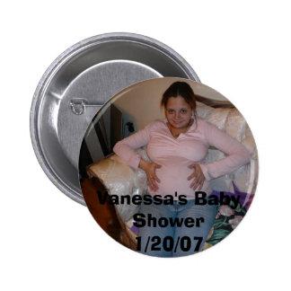 El dulce 16 060, el bebé Shower1/20/07 de Jenny de Pin Redondo De 2 Pulgadas