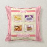 El dulce adaptable del marco de la foto raya lunar almohada