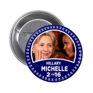 El dulce dieciséis de Hillary Clinton Pin