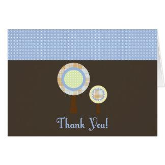 El dulce le agradece tarjeta de nota