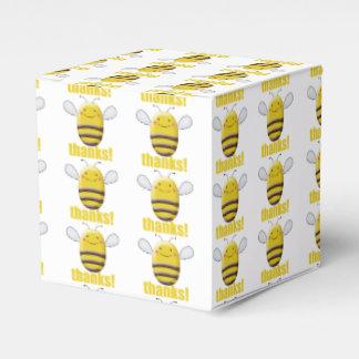 El dulce manosea la abeja dice gracias caja para regalos