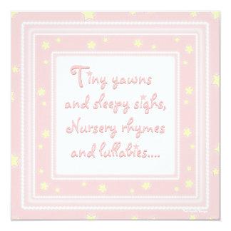 El dulce protagoniza la invitación rosada de la