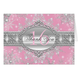 El dulce rosado 16 del país de las maravillas del tarjeta pequeña