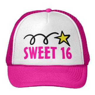 El dulce rosado dieciséis va de fiesta el gorra pa