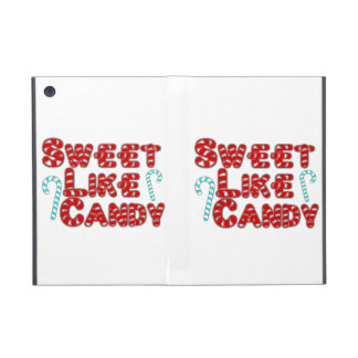 El dulce tiene gusto del caramelo iPad mini cobertura