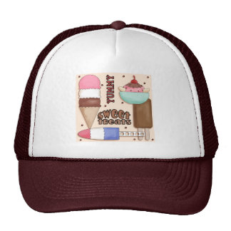 El dulce trata el gorra
