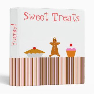 """El dulce trata el libro de la receta carpeta 1"""""""
