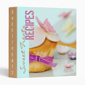 El dulce trata la carpeta de la receta