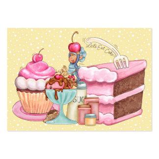 El dulce trata la tarjeta de visita - SRF