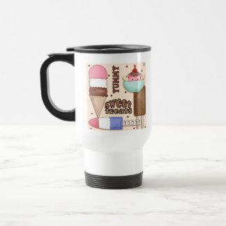 El dulce trata la taza