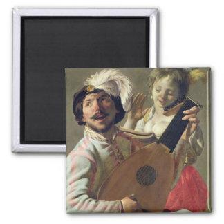 El dúo, 1628 imán cuadrado
