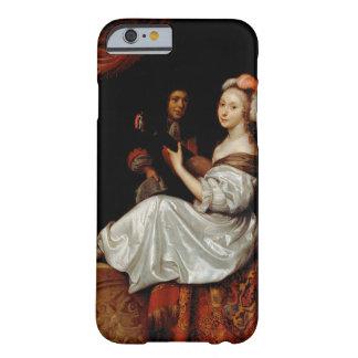 El dúo, 1665 (aceite en lona) funda de iPhone 6 barely there
