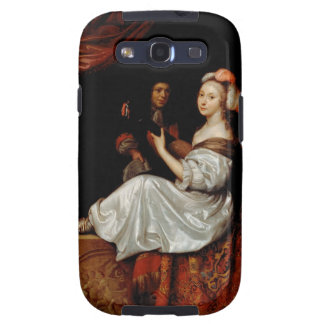 El dúo, 1665 (aceite en lona) galaxy s3 fundas