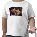 El dúo (aceite en lona) camisetas