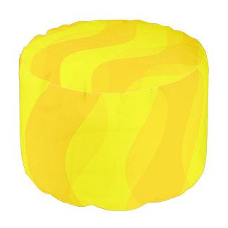 El dúo agita amarillo + sus ideas puf redondo