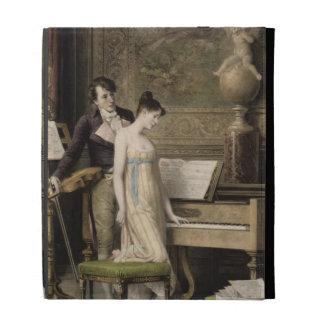 El dúo (mezzotint)