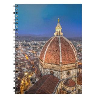 El Duomo en Florencia Italia Libretas Espirales