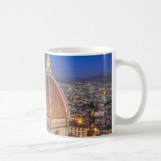 El Duomo en Florencia, Italia Tazas
